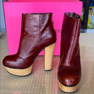 Betsey Johnson Platform Booties